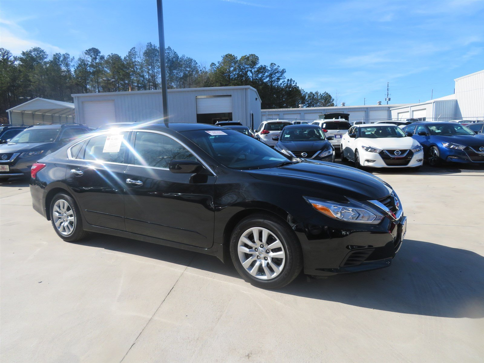Pre Owned 2017 Nissan Altima 2 5 S 4dr Car in Carrollton P4305
