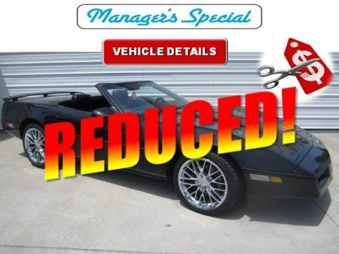 Pre-Owned 1989 Chevrolet Corvette