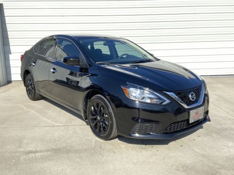 Pre-Owned 2018 Nissan Sentra S Midnight