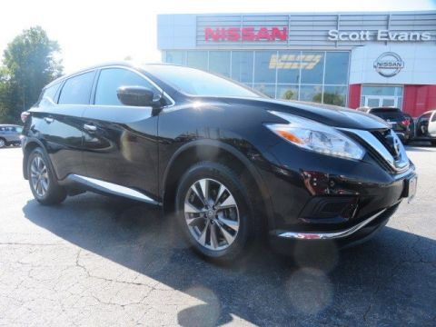 Pre-Owned 2017 Nissan Murano S w/NAVIGATION